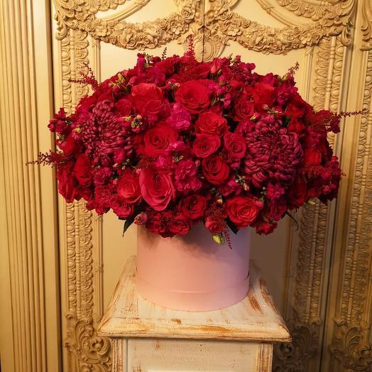 Красный жемчуг: букеты цветов на заказ Flowwow