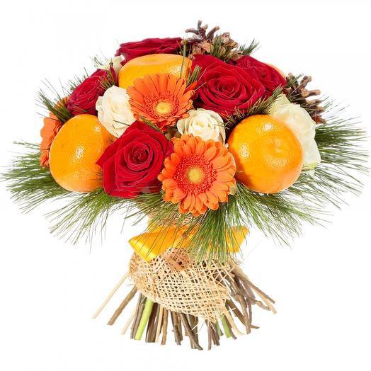 Зимний фрукт: букеты цветов на заказ Flowwow