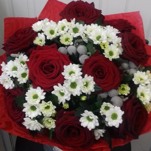 Букет  Для милых дам: букеты цветов на заказ Flowwow