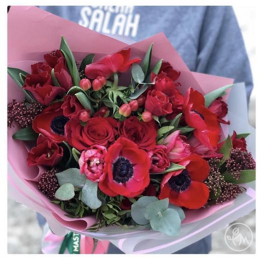Букет «Для любимой»: букеты цветов на заказ Flowwow