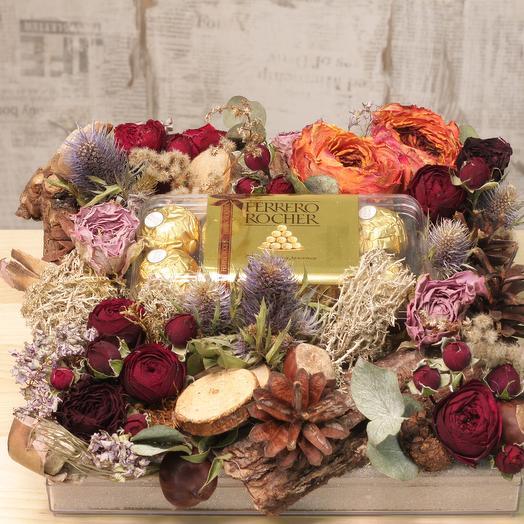 Таинственный замок: букеты цветов на заказ Flowwow