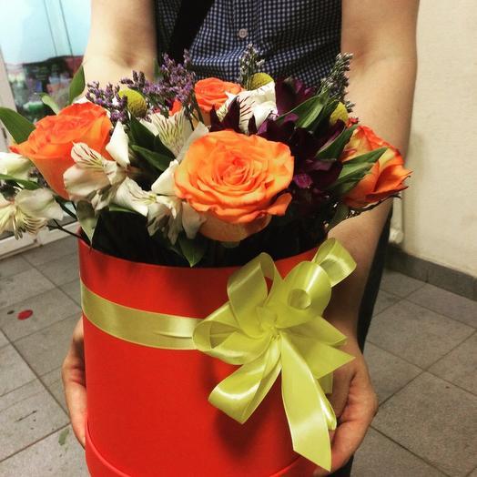 Огненный восторг: букеты цветов на заказ Flowwow