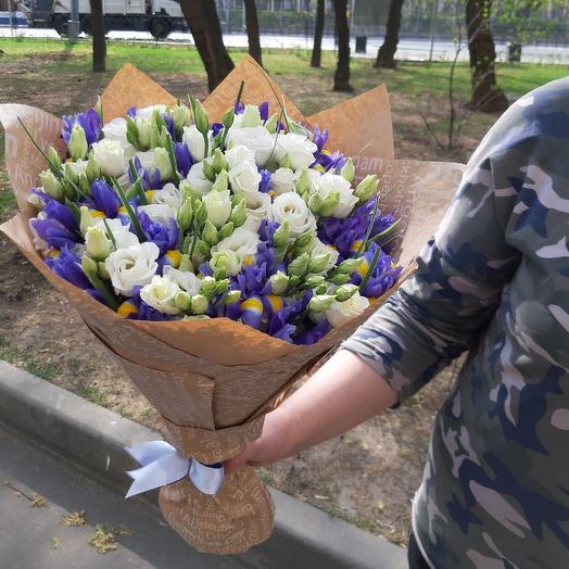 Гармоничный аккорд Z26: букеты цветов на заказ Flowwow