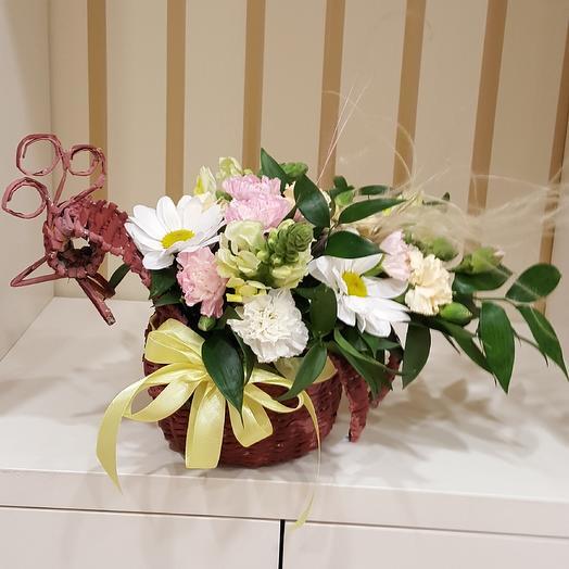 Птица на счастье: букеты цветов на заказ Flowwow