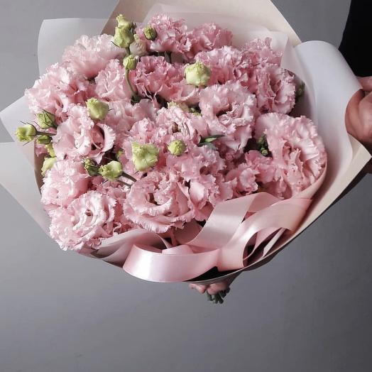 Махровая Эустома 💗: букеты цветов на заказ Flowwow