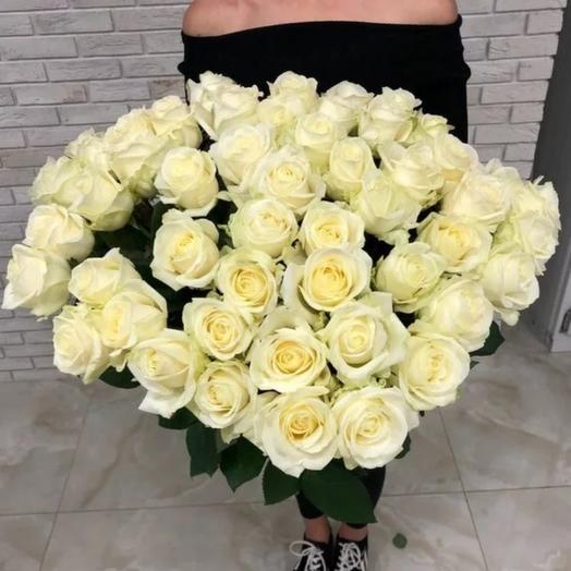 51 белая метровая: букеты цветов на заказ Flowwow