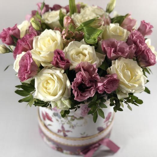 Коробка мини: букеты цветов на заказ Flowwow