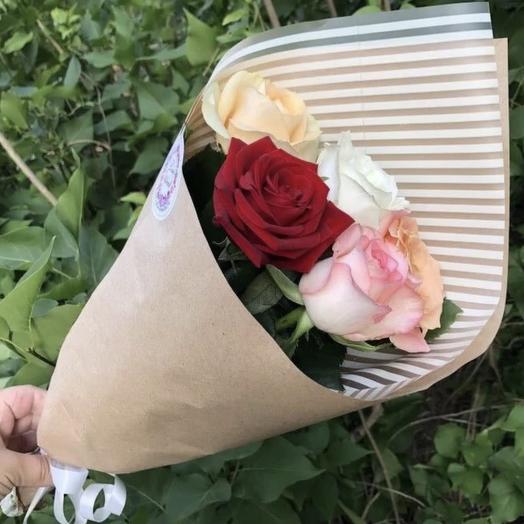 Букет «5 роз Микс»