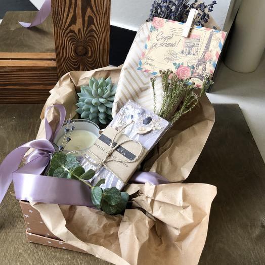 Подарочный набор «Лаванда»: букеты цветов на заказ Flowwow