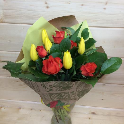 Огненный🔥: букеты цветов на заказ Flowwow