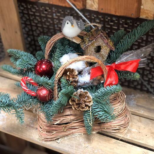 Птичкин домик: букеты цветов на заказ Flowwow