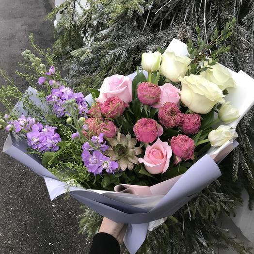 Романтичное настроение: букеты цветов на заказ Flowwow