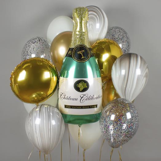 Набор шаров «Time to celebrate!»