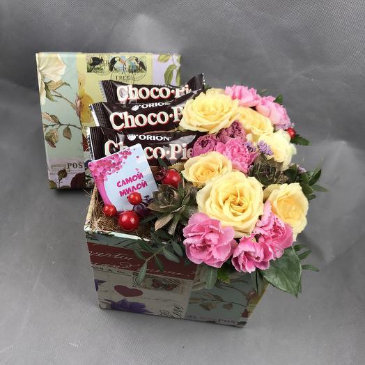 Самой милой: букеты цветов на заказ Flowwow