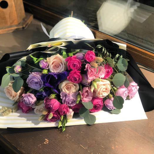 """букет цветов """"Градиент"""""""