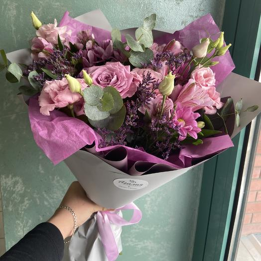С Днем влюбленных💜: букеты цветов на заказ Flowwow