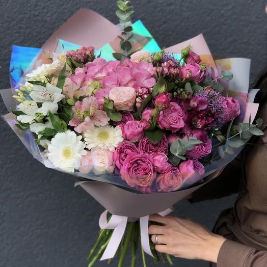 Омбре: букеты цветов на заказ Flowwow