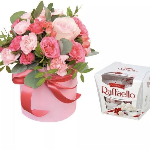 Коробка + raffaello