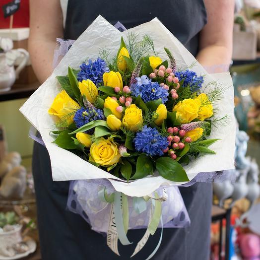 """Букет цветов """"Весна в Париже"""""""