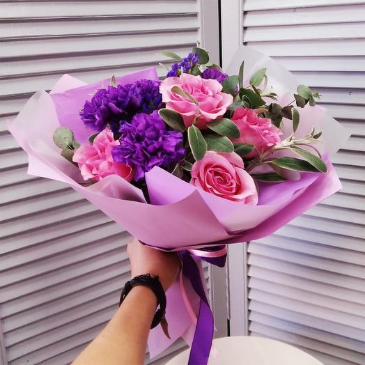 """Букет с розами """"Грация"""""""