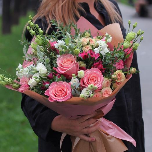 Букет цветов Астория