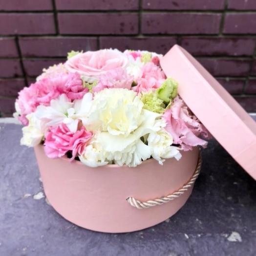 Цветы в коробке, размер S