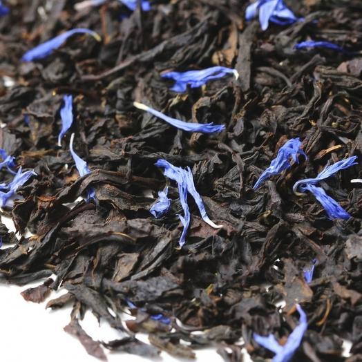 """Чай черный листовой Эрл Грей (Earl Grey) """"Голубой Цветок"""" высшего качества 50 г"""