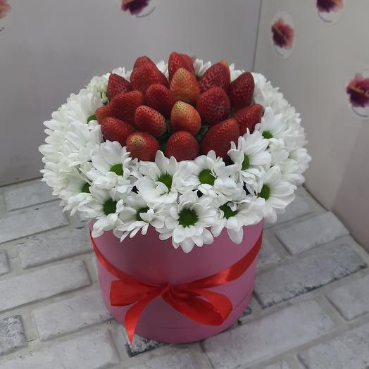 Хризантема с 🍓 й