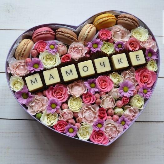 Сладкая коробочка «День матери»