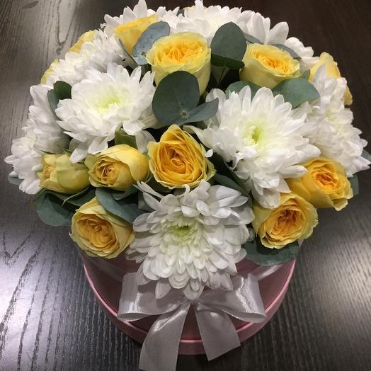 Цветы в коробке 005467