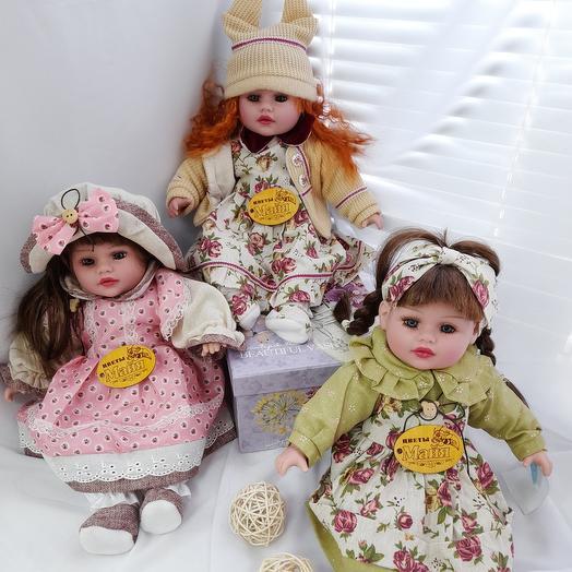 Кукла в стилистике Винтаж