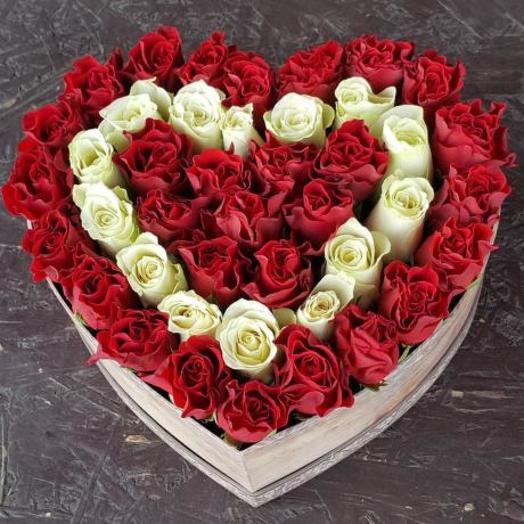 Коробка -валентинка 2