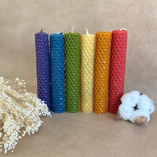 Набор авторских свечей «открытие чакр»