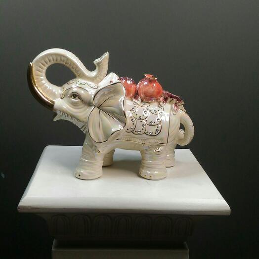 Слон керамический