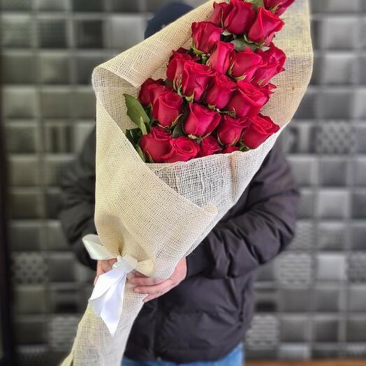 Букет Каскад из роз