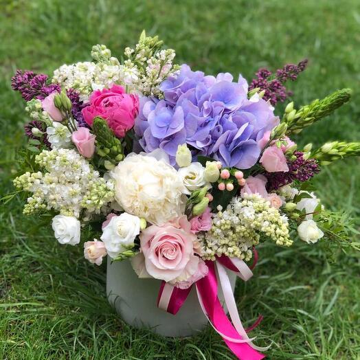 Цветы в коробке 4