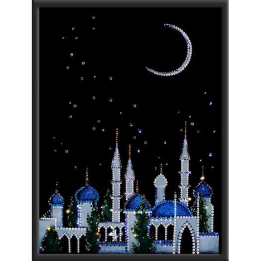 "Картина с кристаллами Swarovski ""Ночной Багдад"""