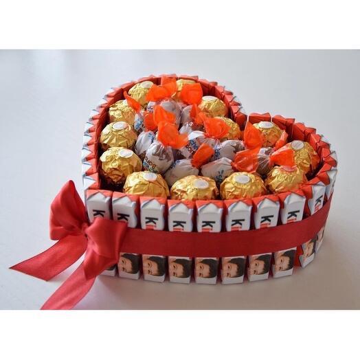 Сладкий подарок Kinder Ferrero Rocher (бокс)