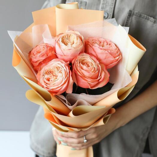 Монобукет из проновидных роз