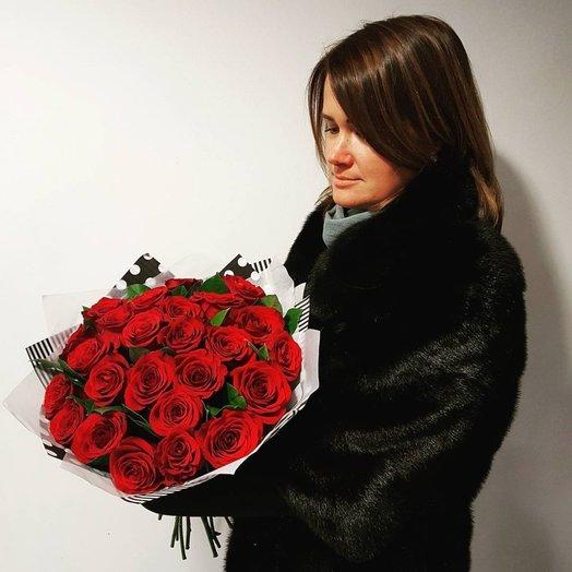 Букет страсть: букеты цветов на заказ Flowwow