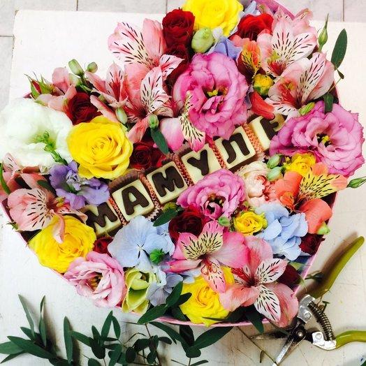 Шебби шик, картинка цветы любимой маме
