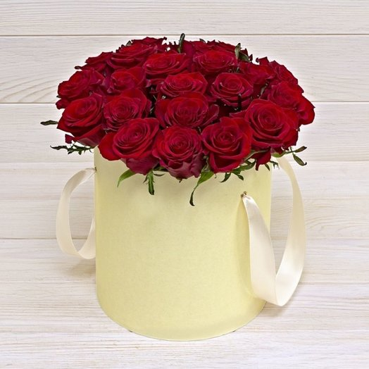 Подарочная коробка Любовь: букеты цветов на заказ Flowwow