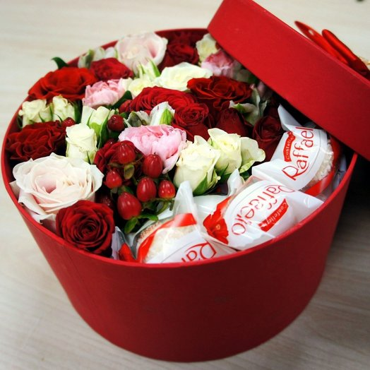 Коробка 1: букеты цветов на заказ Flowwow