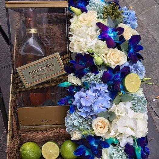 Мужской подарок: букеты цветов на заказ Flowwow
