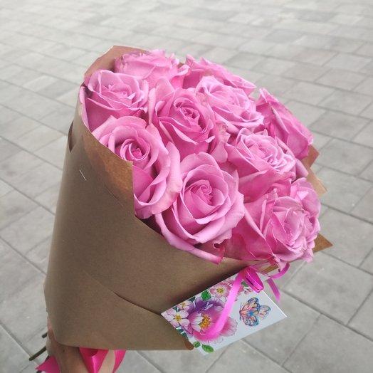 Розовый комплимент: букеты цветов на заказ Flowwow