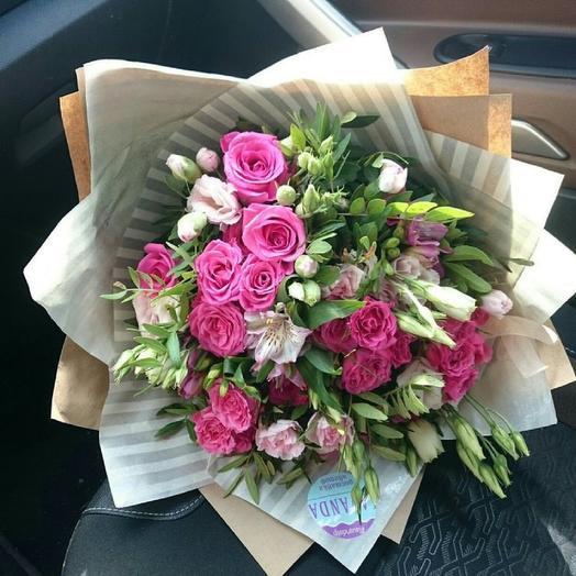 Букет Стиль: букеты цветов на заказ Flowwow