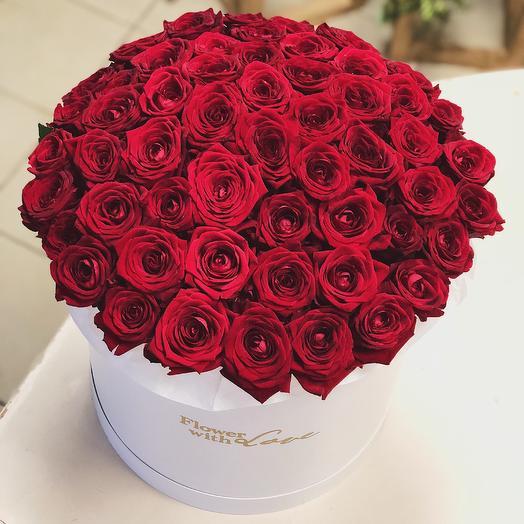 Огромная любовь: букеты цветов на заказ Flowwow