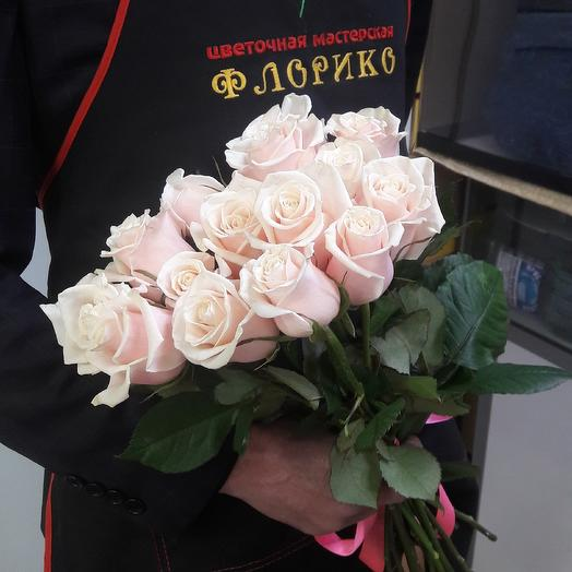Чайная роза 15: букеты цветов на заказ Flowwow