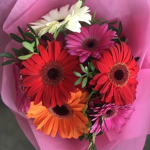 Букет «Яркие фантазии»: букеты цветов на заказ Flowwow