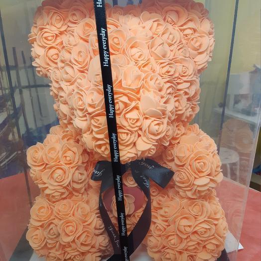 Музыкальный Мишка: букеты цветов на заказ Flowwow